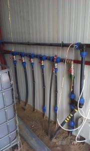 központi vízelosztó rendszer